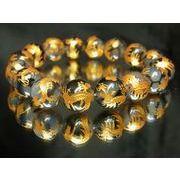 金彫皇帝龍ドラゴンアゲート12ミリ数珠ブレスレット!龍の紋章を持つ龍紋石
