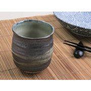 【湯呑みの王道を極める】 和陶器の質感まで味わう 風格のごつごつ湯呑み