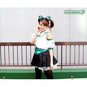 1146A★M■送料無料■ ももいろアイドル  乙女 衣装(グリーン) サイズ:M/BIG