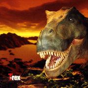 恐竜ハンドタオル ティラノザウルス