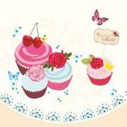 Maki  ペーパーナプキン カップケーキ