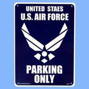プラスティックサインボード CA-28 米空軍専用駐車場