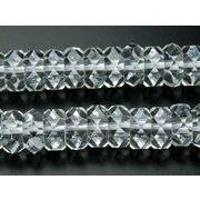 【水晶ボタンカット】 3x6mm 1連(約40cm)[R890]