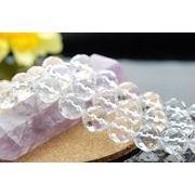 水晶64面カット  12mm 1連(約40cm)_R7/A7-4