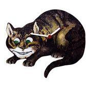 ◆英アソート対象商品◆【英国雑貨】Lark Rise Designs  不思議の国のアリス チェシャ猫(LRC2)
