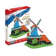 3Dクラフト オランダの風車