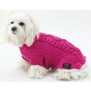 【イタリア製】FASHIONDOG デザイン編み込みセーター(ART309)