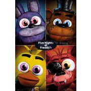ポスター Five Nights At Freddy's ポスター Quad