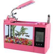 ファニティ(fanity)【多機能ミニミニ水槽】 ピンク