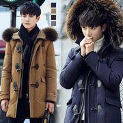高品質ダウンコート メンズ ロングジャケット メンズ ロングジャケット  カジュアルアウター 防寒 冬物