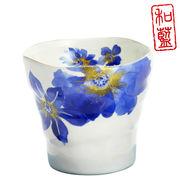 藍華 ロックカップ 鉄線・菊