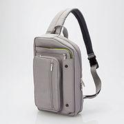 エレコム タブレットバッグ(ボディバッグタイプ) TB-08BB01GY