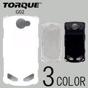 TORQUE G02ケースカバー 無地 スマートフォンケース au
