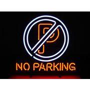 NO PARKING ノーパーキング 駐車禁止 (ネオン管 看板 アメリカン雑貨 ・NEON SIGN・ネオンサイン)