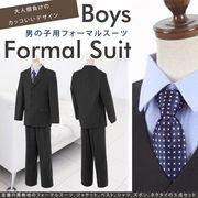 子供スーツ フォーマルスーツ 黒 男児 子供服 結婚式 入学式 卒業式 キッズ 145 150 155 160
