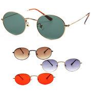 【TY3545】オーバル★メタル♪シンプルサングラス【4色展開♪】眼鏡/ユニセックス/メンズ