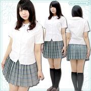 ■送料無料■英真学園高等学校 夏服  サイズ:M/BIG
