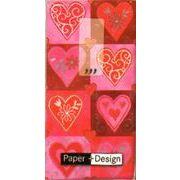 Paper+Design ミニペーパーナフキン 01235  ハート