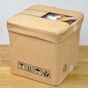 【AMANO】【スツールボックス】ネコ雑貨 フクロウ雑貨