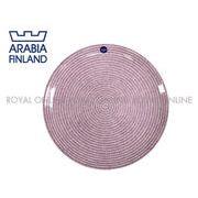 Y) 【アラビア】 1019230 24h アベック プレート 26cm 食器 雑貨 お皿 パープル