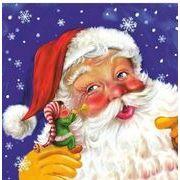 Daisy  ペーパーナプキン クリスマス サンタクロース