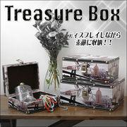 【ヴィンテージ風】NYの町並み柄のトレジャーBOX☆宝箱☆収納☆入れ子式3個セット
