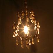 【Renaissance Chandelier PetitTiara】ヨーロッパ風★ 1灯シャンデリアプチティアラ Copper