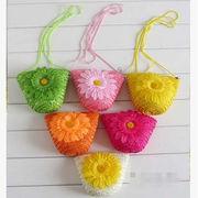 ★♪おしゃれ☆財布☆草編みバッグ☆かばん☆ビーチバッグ☆鞄☆8色♪☆