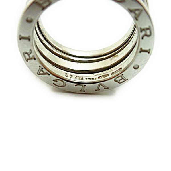 new product 802d7 fe64c ブルガリ リング レディースリング 指輪 7.5号 刻印750 ホワイト ...