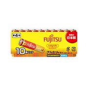 FUJITSU アルカリ乾電池 単4形 1.5V 10個パック /乾電池 バッテリー アルカリ  単4