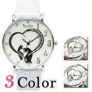 【レディース仕様】★ハートモチーフ レディース腕時計 OSD40【保証書付】