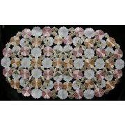 ♪♪カットワーク刺繍テーブルセンター♪♪(35×60CM)