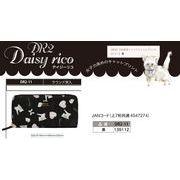 「猫グッズ」「財布」Daisy Ricoデイジーリコ ラウンド束入