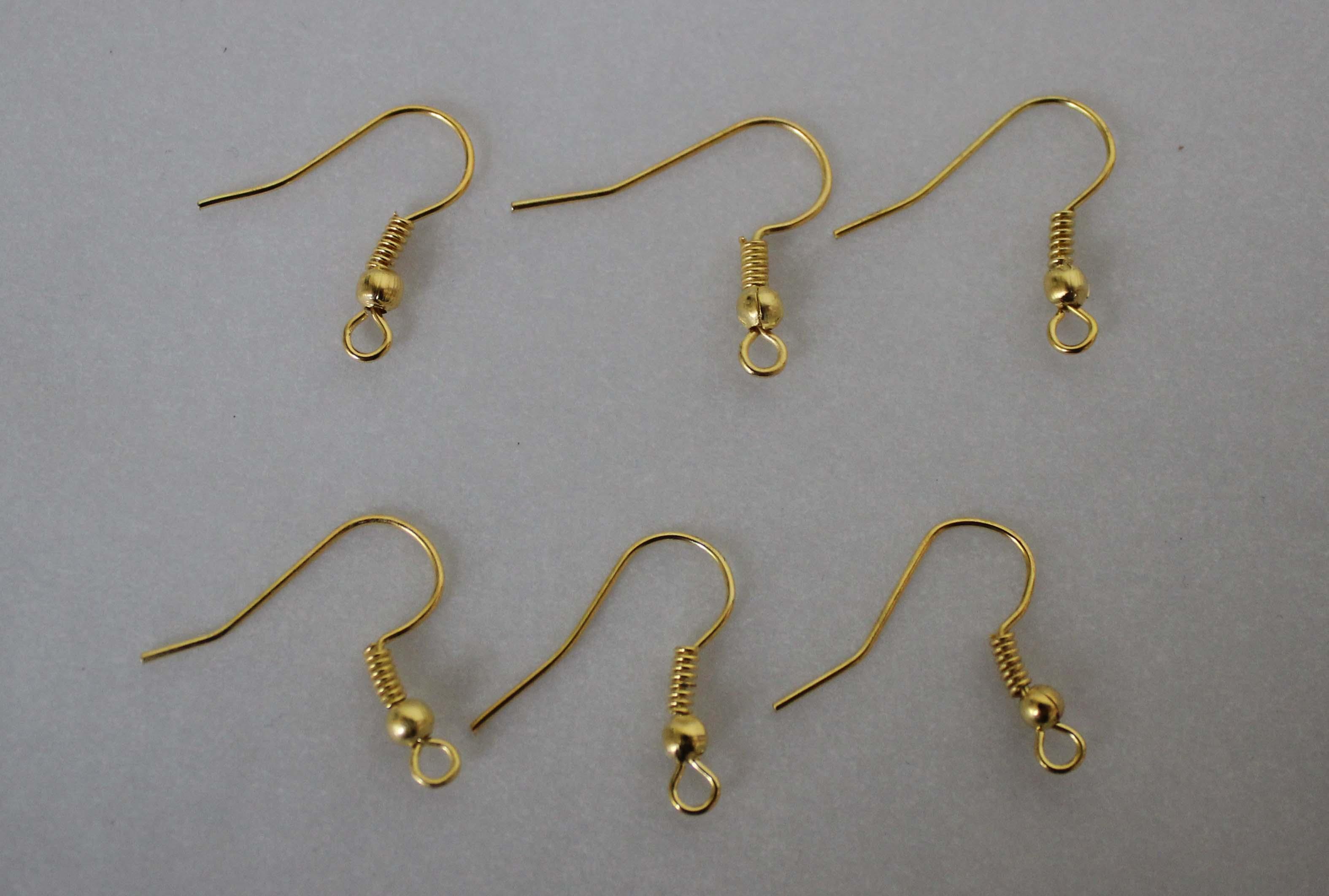 ピアスのフック ピアス部品 アクセサリーパーツ ブロンズ シルバー ゴールド留め具FV,1186ファッション雑貨 卸アーバンマツシマ 有限会社|問屋・仕入れ・卸・卸売の