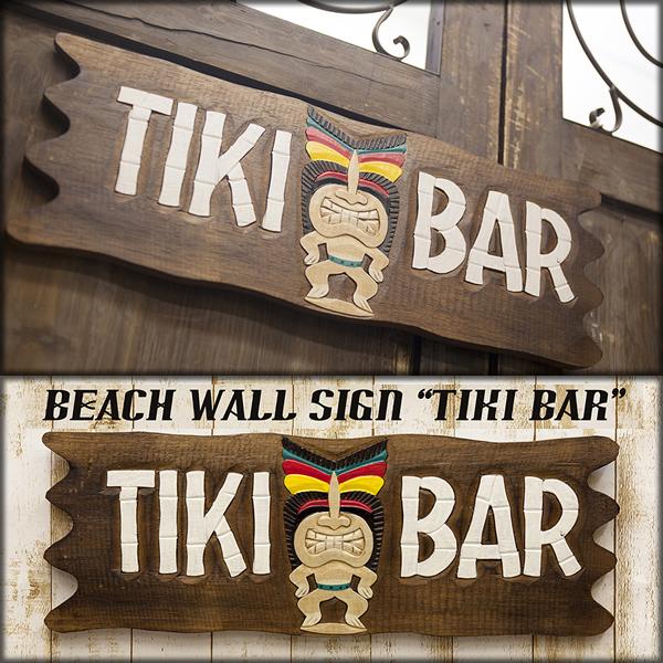 【SALE/値下げ】ビーチウォールサイン TIKI BAR♪