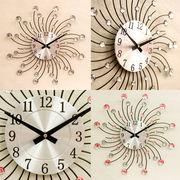 【壁掛時計】デザインウォールクロック【サン】