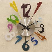 【壁掛時計】デザインウォールクロック【マルチモダン】