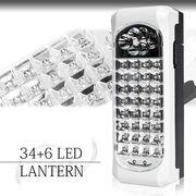 【強力発光】持ち手が伸びる!3パターンで明るい!多種多様に使える。34+6灯LEDランタン