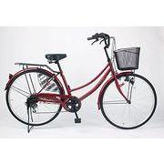 空気のぬけない自転車26インチ軽快車(完全組み立て)