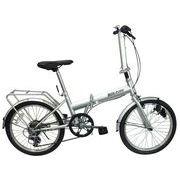 空気のぬけない自転車20インチ6段ギヤ