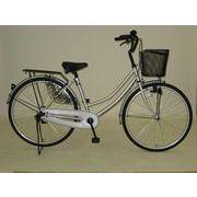 空気のぬけない自転車26インチ軽快車