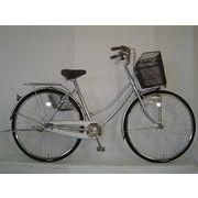 通学・通勤仕様・空気のぬけない自転車26インチ内装3段ギヤ付軽快車