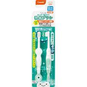 コンビ テテオ はじめて歯磨き 乳歯ブラシ STEP3 2本入