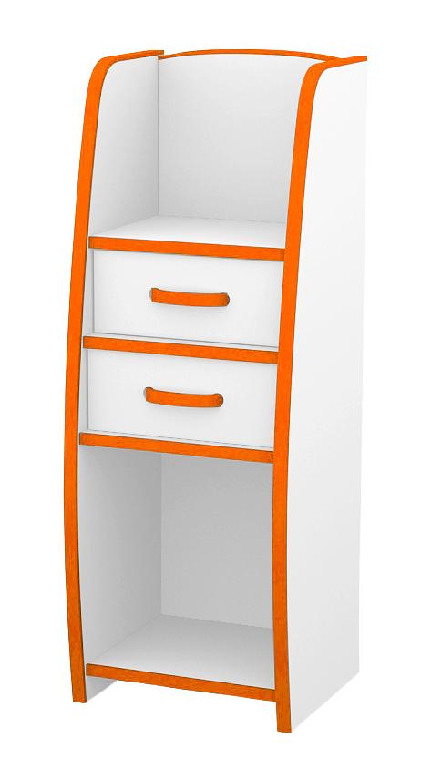 ランドセルラック カラー6色(オレンジ・グリーン・ブルー・オレンジ・レッド・ホワイト・ブラウン)