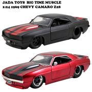 JADATOYS 1:24 1969 CHEVY CAMARO Z28 ミニカー 【BLACKのみ】