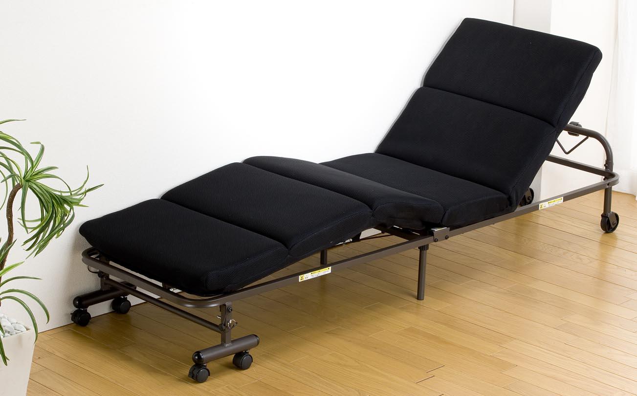 モコモココンパクト折りたたみベッド