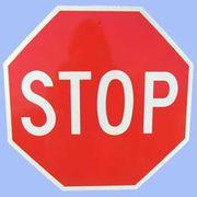 STOP トラフィックサインボード