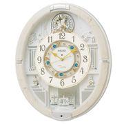 【新品取寄せ品】セイコークロック 電波からくり掛時計 RE576A