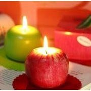 BLHW142899◆送料0円◆クリスマス 果物 フルーツ キャンドル アップル ローソク 蝋燭