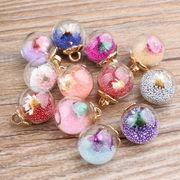 DIYカラー水晶玉*合金 腕輪/ネックレース/着物の美容 ペンダント ハンドメイド